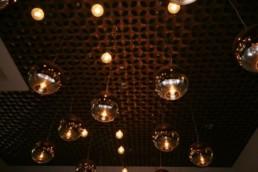 open grid modular ceiling