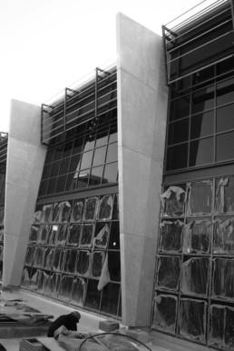 Decollate Simulated Concrete Columns